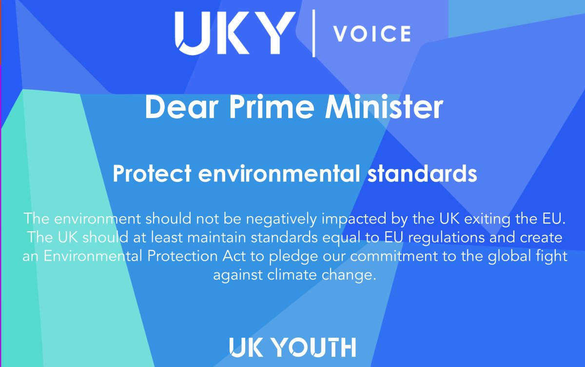 25 Year Environmental Plan: a significant marker, or empty incentives to gain a youthvoice?